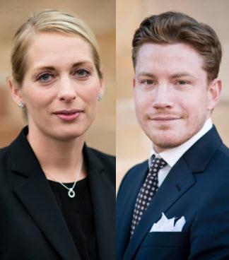 Amanda Ivansson och Eric Giner