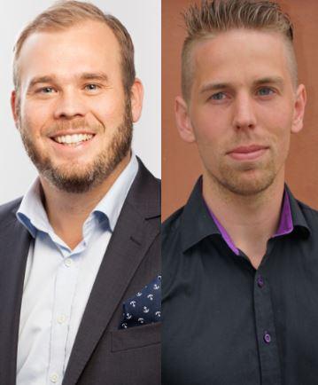 Andreas Stranne och Johan Ohlsson