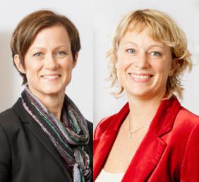 Anna-Sara Lindström och Malin Andersson