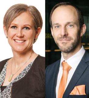 Cecilia Rasmusson och Anders Jorlin