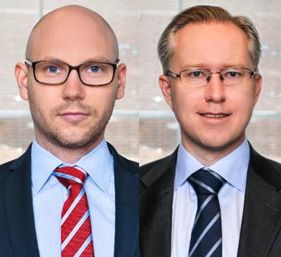 Erik Koponen och Pär Magnus Wiséen