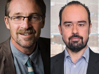 Hans Peter Larsson och Peter Hellqvist