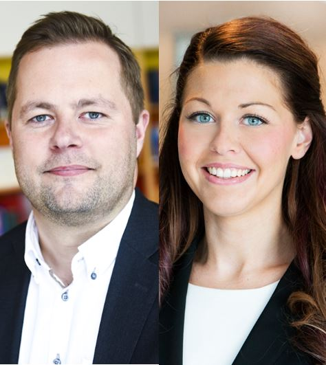 Henrik Ivarsson och Madeleine Mogren