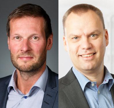Jörgen Haglund och Fredrik Ohlsson