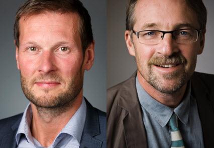 Jörgen Haglund och Hans Peter Larsson