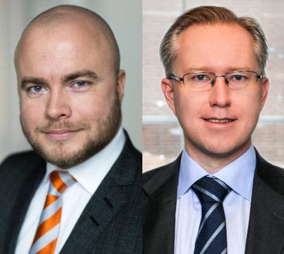 Joel Nilsson och Pär Magnus Wiséen
