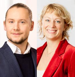Jonas Prevander och Malin Andersson