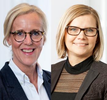 Kajsa Boqvist och Ulrika Lundh Eriksson