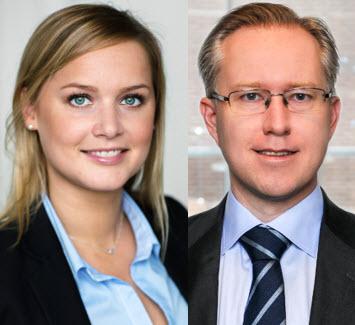 Madeleine Thörning och Pär Magnus Wiséen