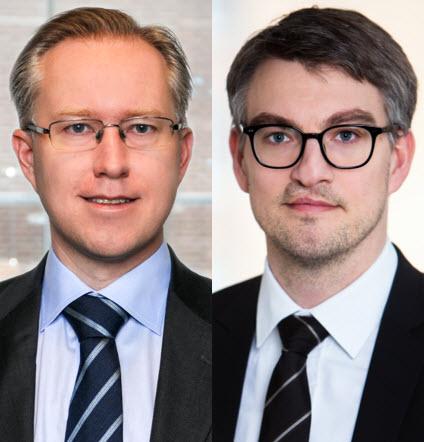 Pär Magnus Wiséen och Martin Stiernström