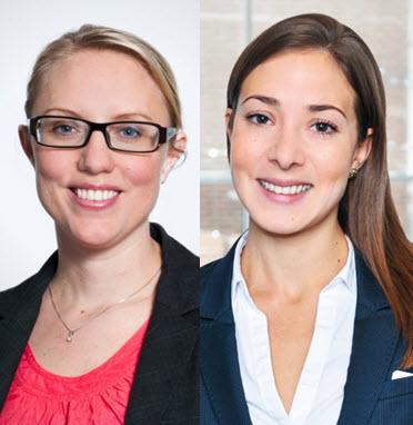 Sara Lörenskog och Anna Franzén