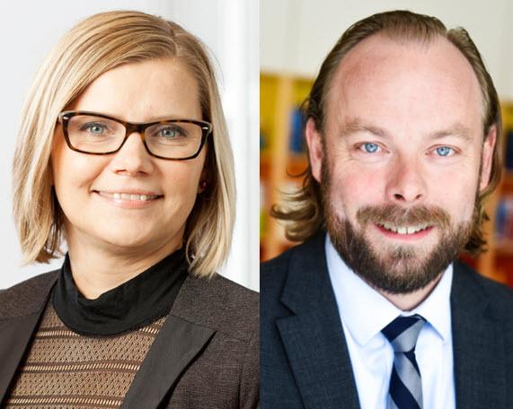 Ulrika Lundh Eriksson och Anders Månsson
