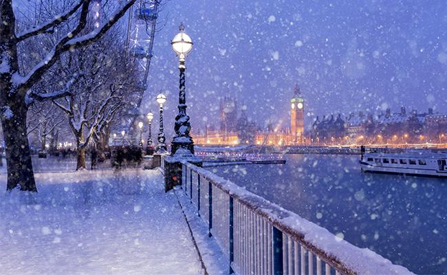 Vinter i London